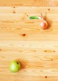 лук яблока стоковое изображение rf