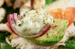 лук mayo авокадоа Стоковые Фотографии RF