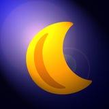 луна банана Стоковое фото RF