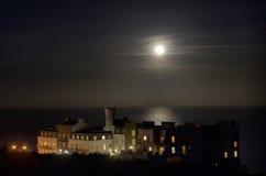 луна жилого дома польностью роскошная стоковое изображение