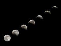 луна затмения Стоковые Фото