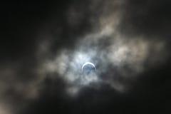 луна затмения стоковое фото