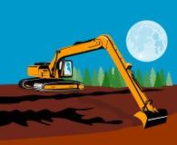 луна землечерпалки бесплатная иллюстрация