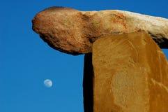 луна земли Стоковое Изображение RF