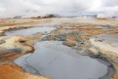 Луна Исландии Стоковые Изображения RF