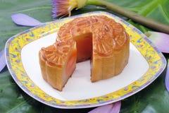 луна китайца торта Стоковое Изображение