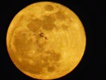 луна красного цвета bood стоковое изображение rf