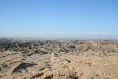 луна Намибия lanscape Стоковая Фотография