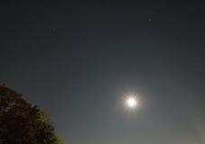 Луна неба Стоковые Изображения