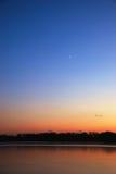 луна новая Стоковая Фотография