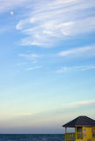 луна пляжа Стоковое Изображение