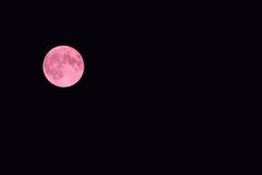 Луна полной крови в сентябре 2015 Стоковые Изображения RF