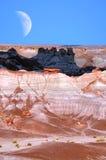 Луна пустыни Стоковые Фотографии RF