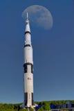 Луна Ракета Стоковое Изображение