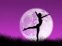 луна танцора бесплатная иллюстрация
