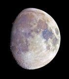 луна цвета gibbous Стоковые Изображения RF