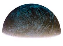 Луна Юпитера Europ Стоковые Изображения RF