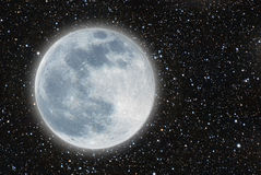 Луна Iluminated Стоковые Фото