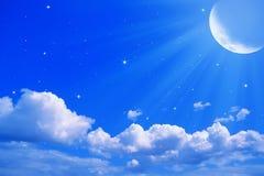 луна jpg Стоковое Изображение