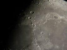 лунная поверхность Стоковая Фотография