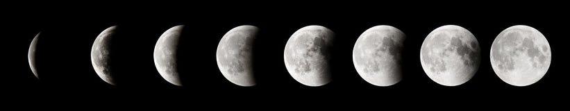 Лунное затмение Стоковые Фотографии RF