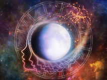 Лунные отголоски Стоковая Фотография