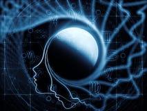 Лунный магнетизм Стоковые Изображения RF
