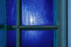 Лунный свет через окно Стоковые Фотографии RF