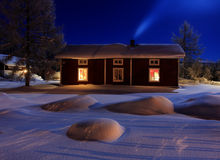 лунный свет Стоковая Фотография