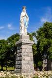 Статуя нашей дамы Лурдес Стоковое Изображение RF