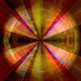 Лучи абстрактного солнца Стоковые Изображения RF