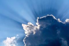 Лучи бога Стоковая Фотография RF