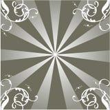 лучи орнамента Стоковое Изображение