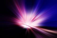 лучи светя Стоковое Изображение RF