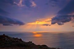 Лучи солнца Стоковое фото RF