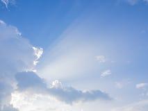 Лучи Солнця Стоковые Изображения