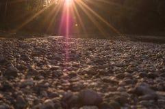 Лучи Солнця стоковое изображение