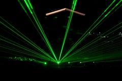 лучи строя лазер стоковые изображения rf