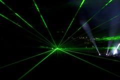 лучи строя лазер стоковая фотография rf