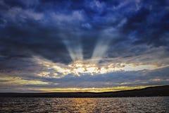 Лучи утра Стоковые Изображения RF