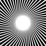 Лучи, лучи, картина sunburst starburst Собирательные линии abst Стоковое фото RF