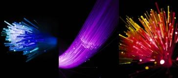 лучи цвета предпосылки черные Стоковое Фото