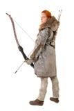 Лучник девушки Стоковые Фотографии RF