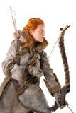 Лучник девушки стоковая фотография