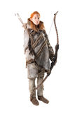 Лучник девушки Стоковое Изображение RF