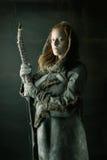 Лучник девушки Стоковые Изображения RF