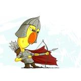 Лучник цыпленка готовый к действию Стоковая Фотография