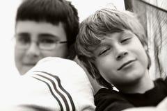 лучшие друг Стоковое Изображение RF