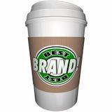 Лучш Бренд Coffee Кофейная чашка Верхн Ведущ Компания Стоковые Изображения RF