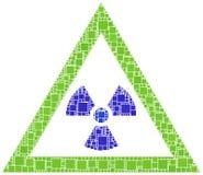 луч опасности x Стоковое Изображение RF